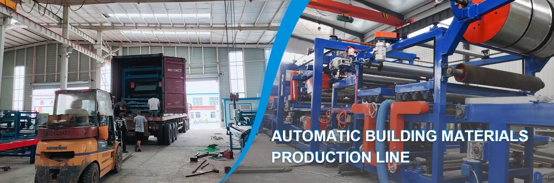 Automatic Building Materials Production Line